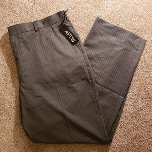 🍉 NWT Apt 9 Mens Gray Dress Pants 40 X 32